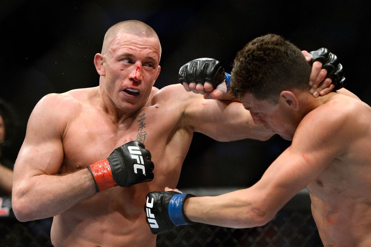Georges St Pierre Vs Nick Diaz Full Fight Video Highlights From Ufc 158 Mmamania Com