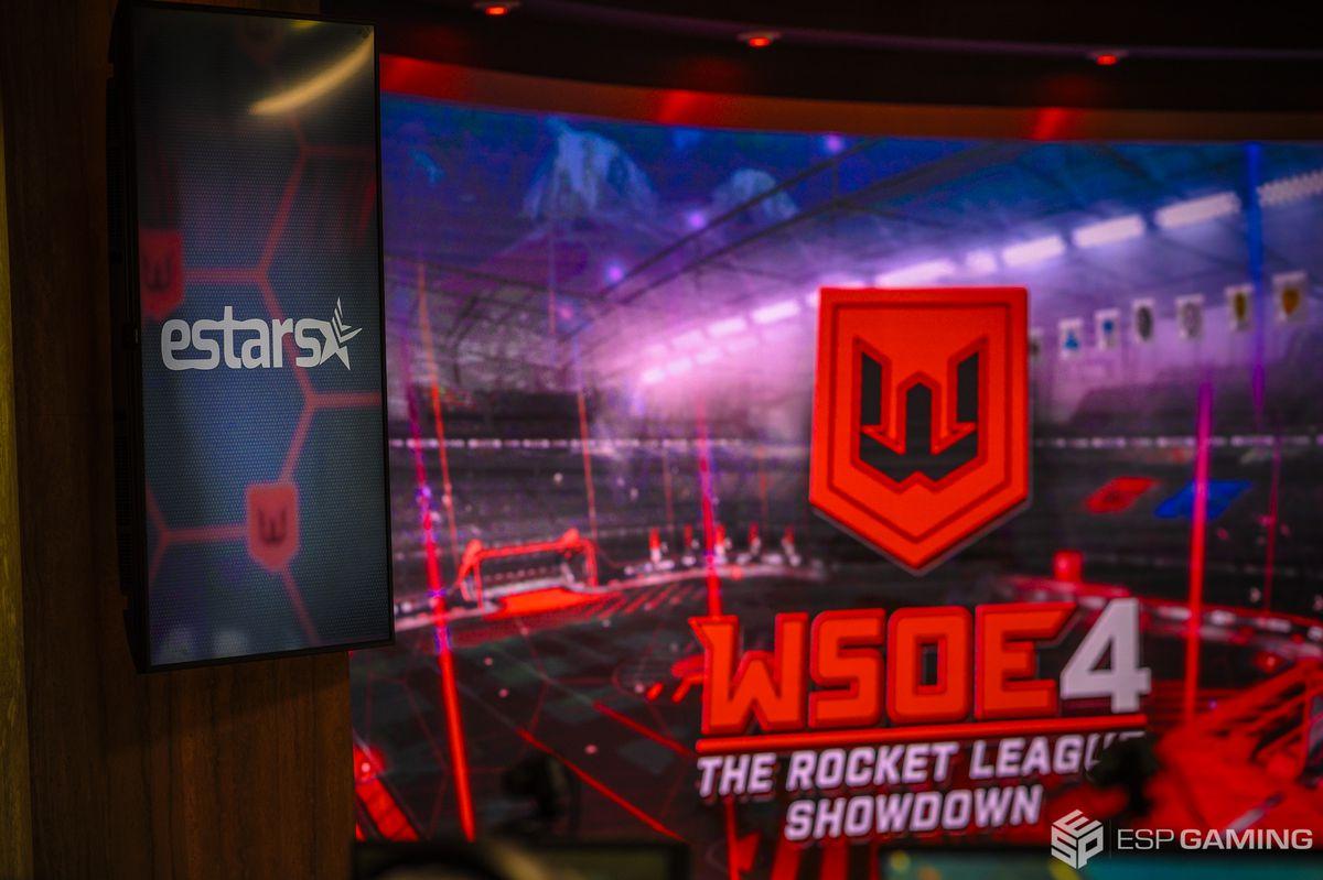 The venue for a World Showdown of Esports Rocket League event