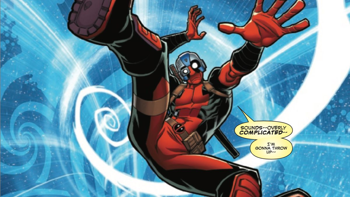 Marvel S New Deadpool Comic Is Also A Surprisingly