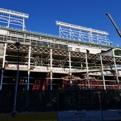 Wider view of right field stands