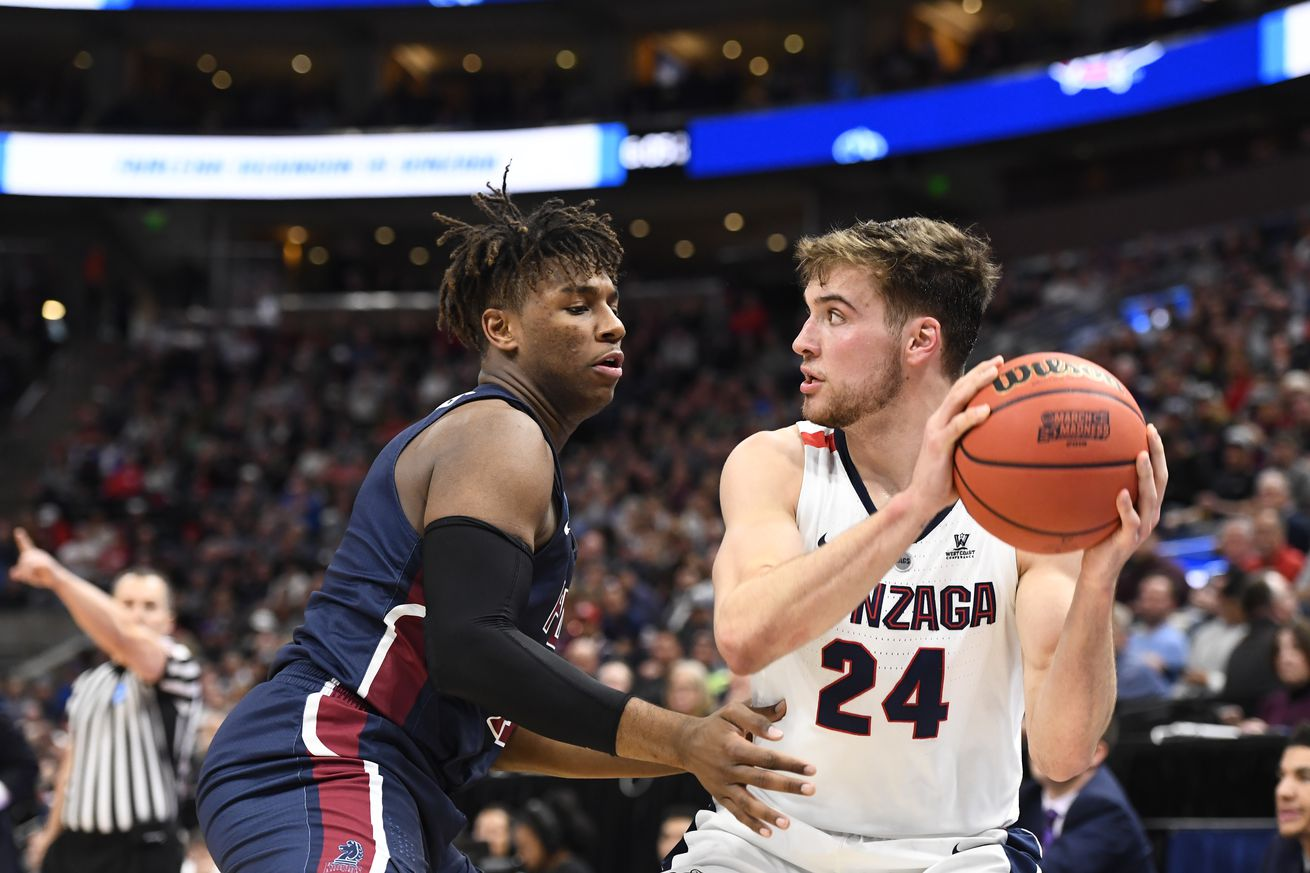 1131916165.0 - Men's college basketball's preseason poll is out, with Gonzaga at No. 1