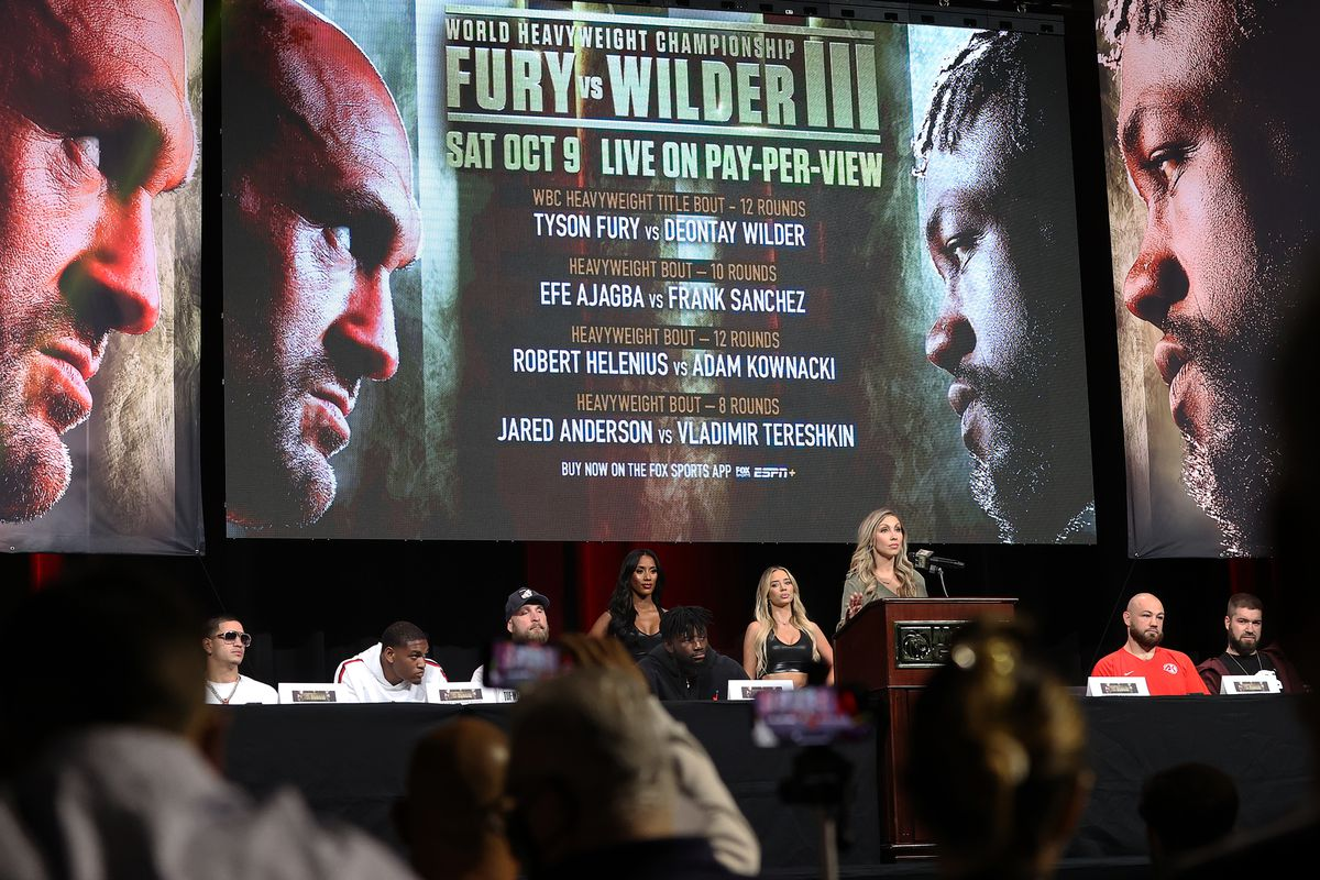 Tyson Fury v Deontay Wilder - Undercard News Conference