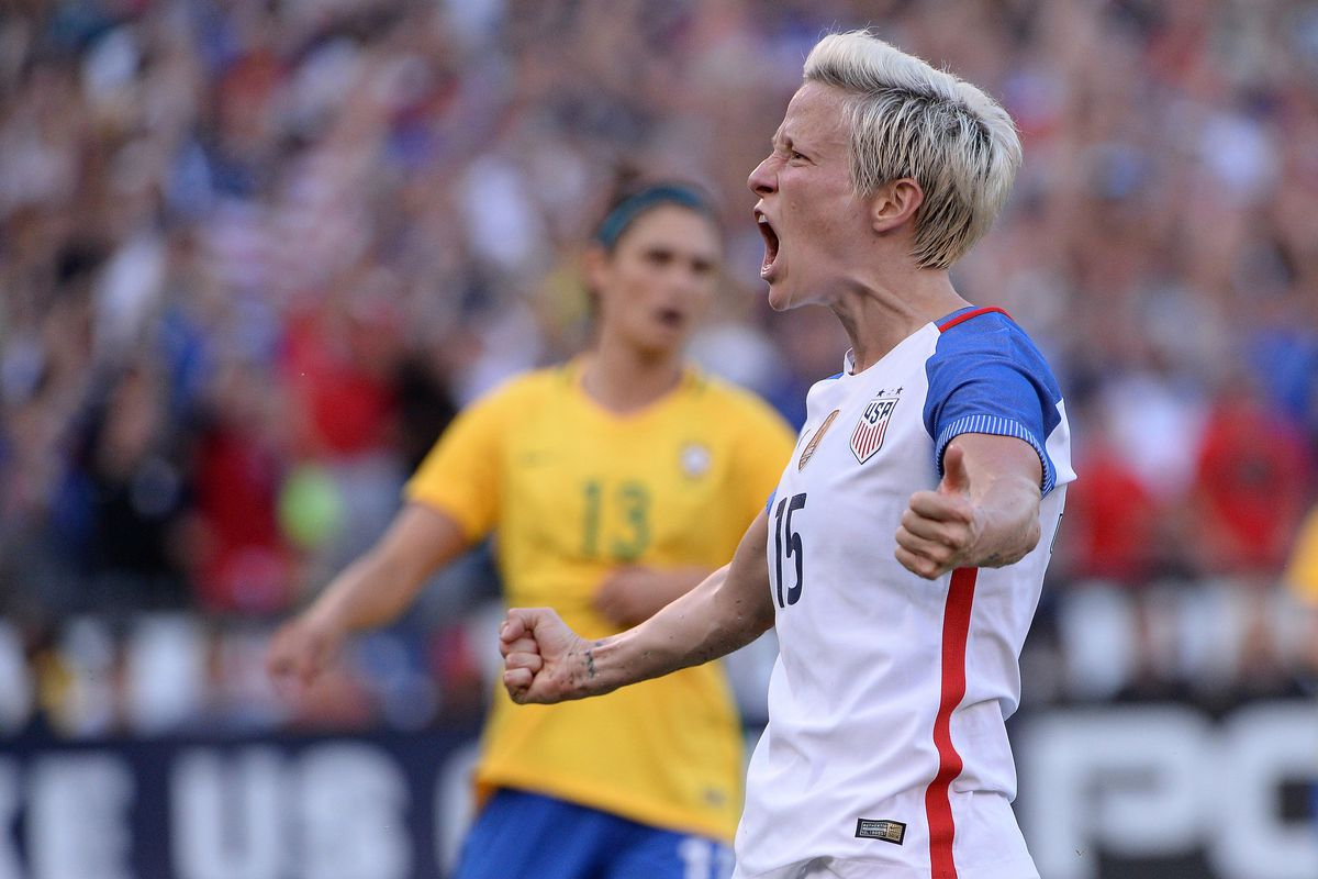 Soccer: Tournament of Nations - Women's Soccer-Brazil at USA