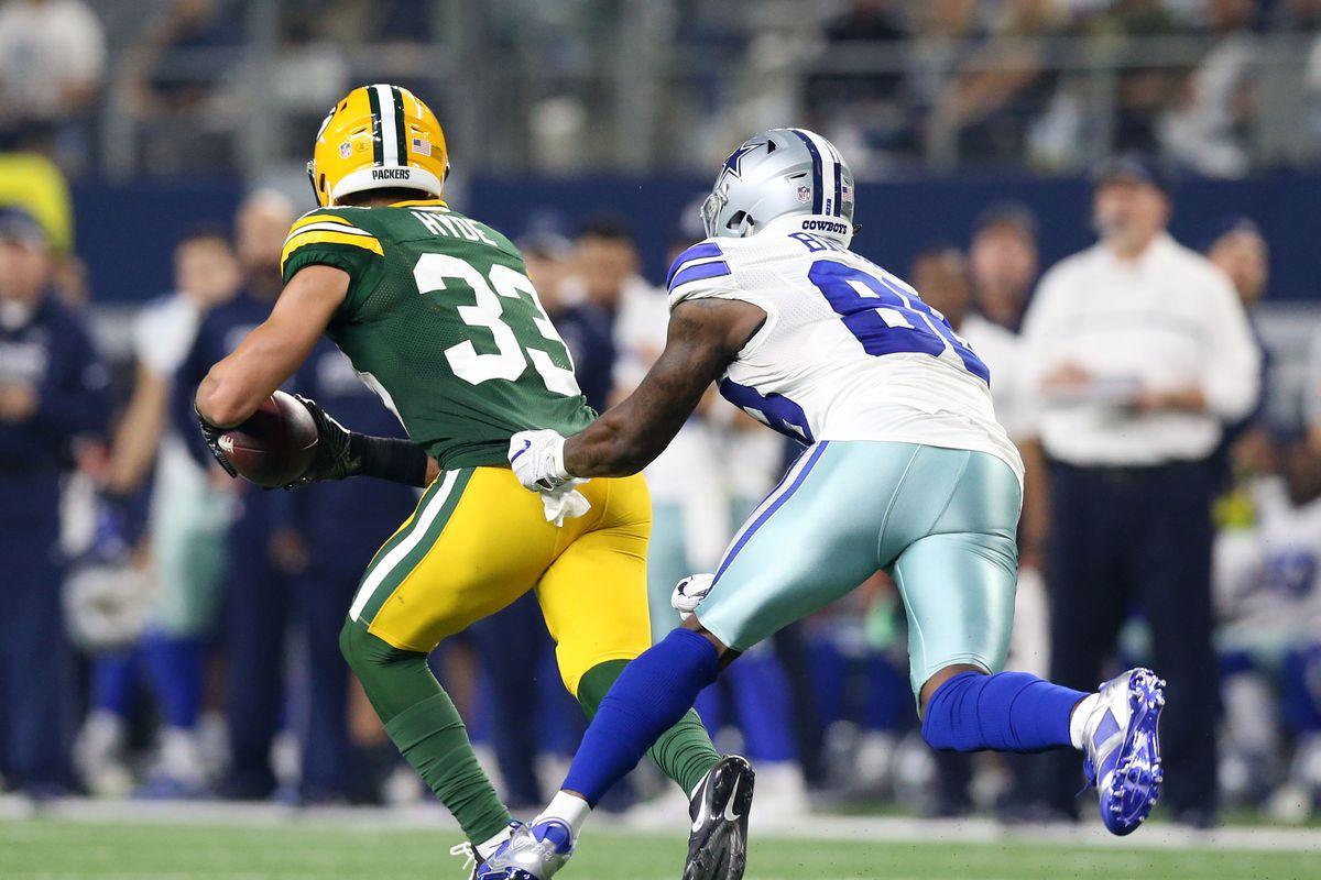 Packers top plays of 2016 No 3 Micah Hyde reads Dak Prescott s