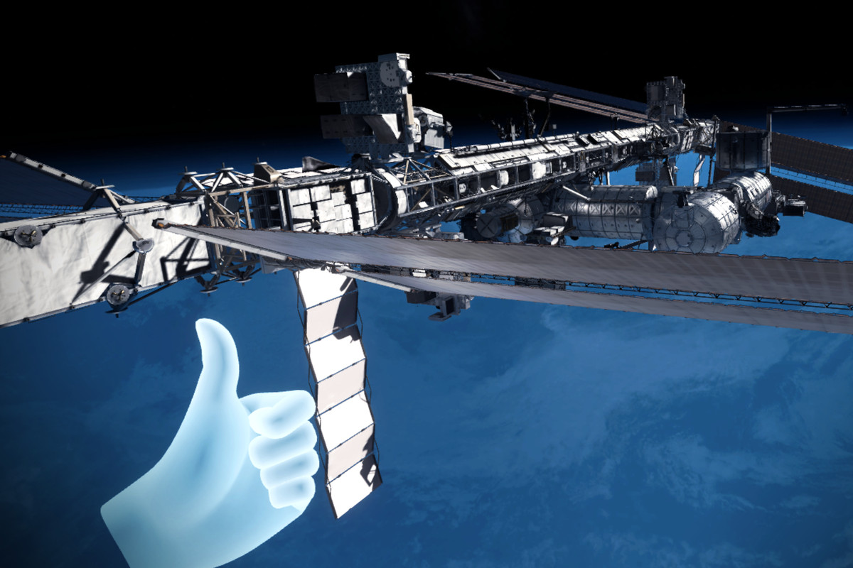Explore the International Space Station in VR right now ...