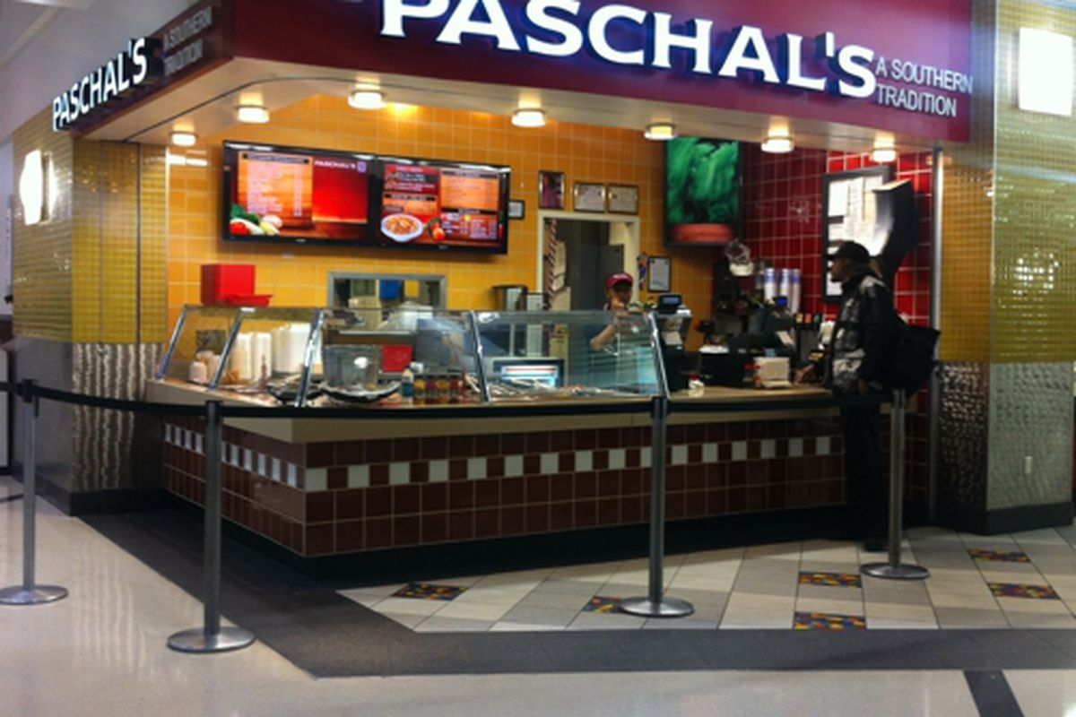 Paschal's Restaurant, Hartsfield-Jackson Atrium.