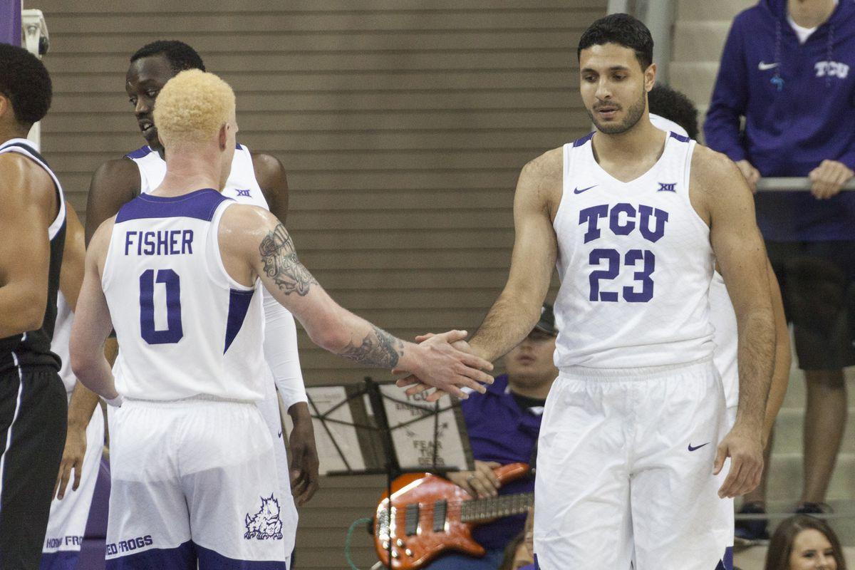 TCU Basketball vs Omaha, November 20, 2017.
