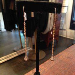 Michael Spirito diamond earrings, $790