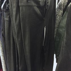 Leather pants, $375 (were $1,990)