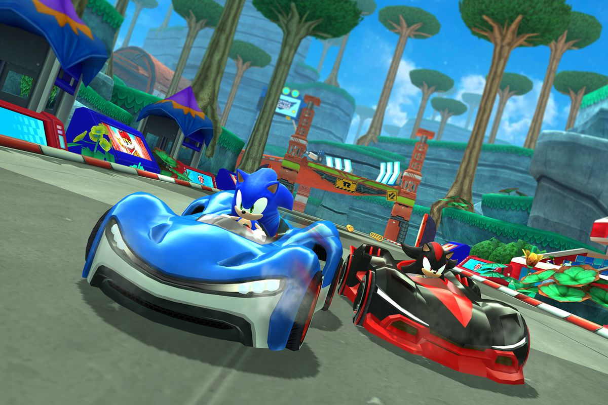 Sonic Racing will be part of Apple Arcade.