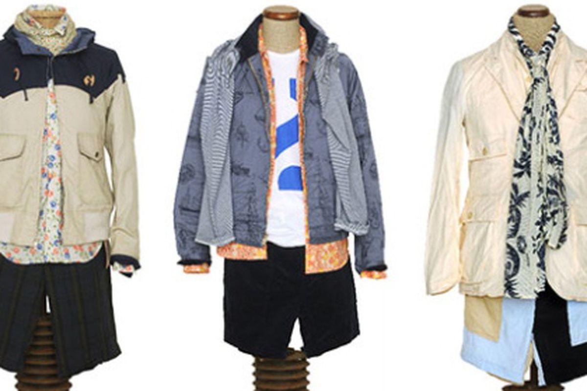 "Woolrich Woolen Mills SS10 image via <a href=""http://www.selectism.com/news/2009/06/23/woolrich-woolen-mills-springsummer-2010/"">Selectism</a>"