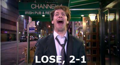 LOSE, 2-1