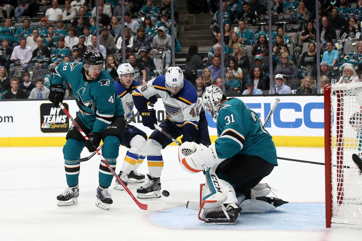 St Louis Blues v San Jose Sharks - Game Two