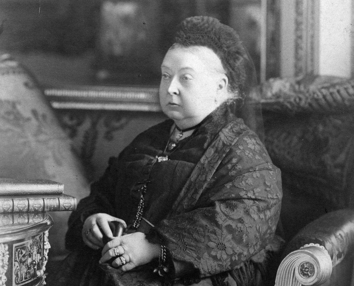 Queen Victoria circa 1899.