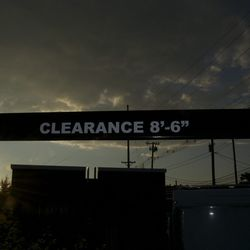 """The drive-thru's clearance is 8'6"""". On the metric scale, that's who gives a crap, this is Kentucky."""