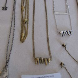 Triskaidekaphobia's teeth necklaces