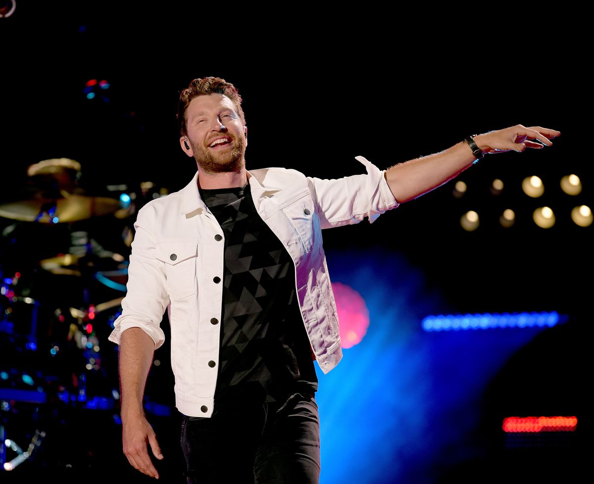 Brett Eldredge performs onstage during the 2018 CMA Music festival at Nissan Stadium on June 10, 2018 in Nashville, Tennessee. | Jason Kempin/Getty Images