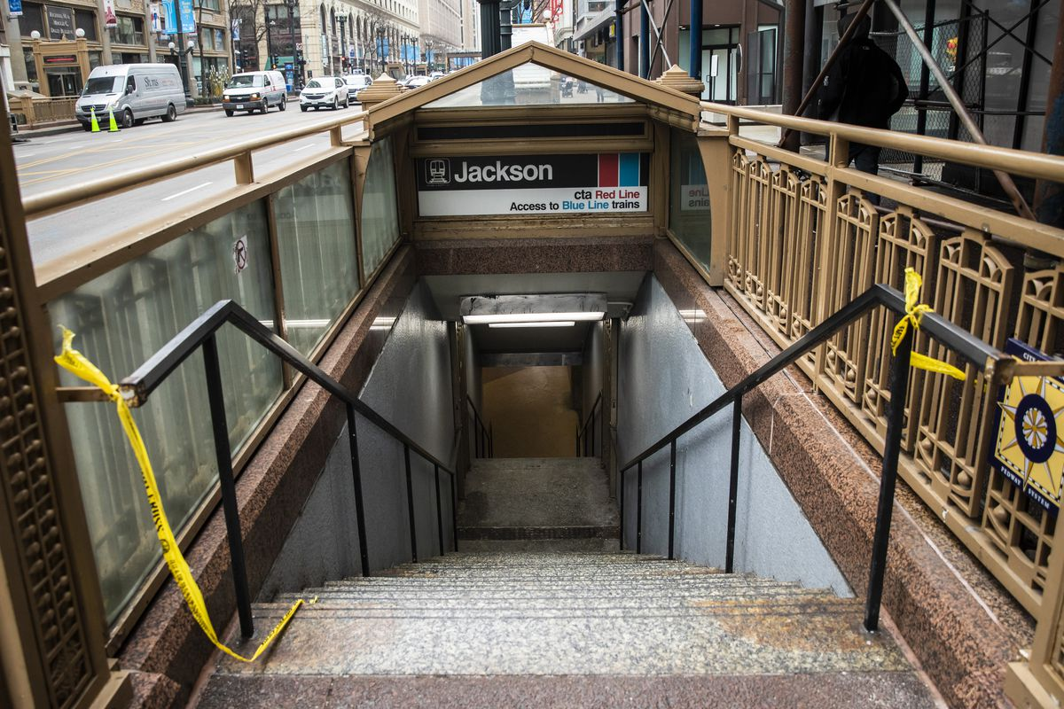 Police say they have arrested someone in connection to a Feb. 17, 2020, shooting in the tunnel connecting the Jackson Red and Blue lines in the 200 block of South Dearborn.