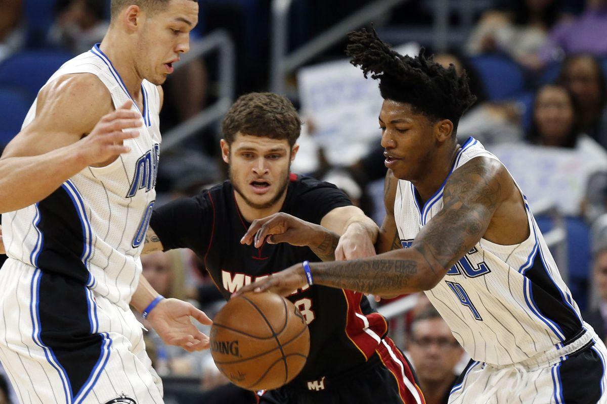 NBA: Miami Heat at Orlando Magic