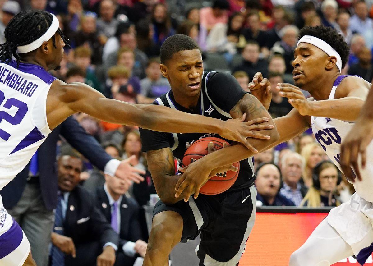 NCAA Basketball: Big 12 Tournament-TCU vs Kansas State