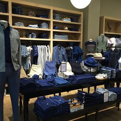 """J. Crew is easily the most """"mall"""" store here..."""