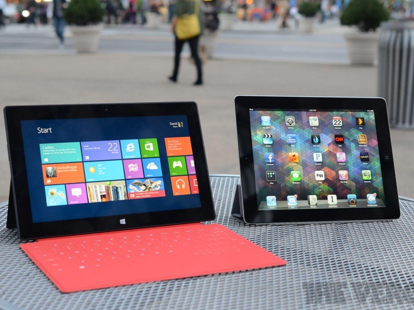 Microsoft launches iPad comparison site for Windows 8