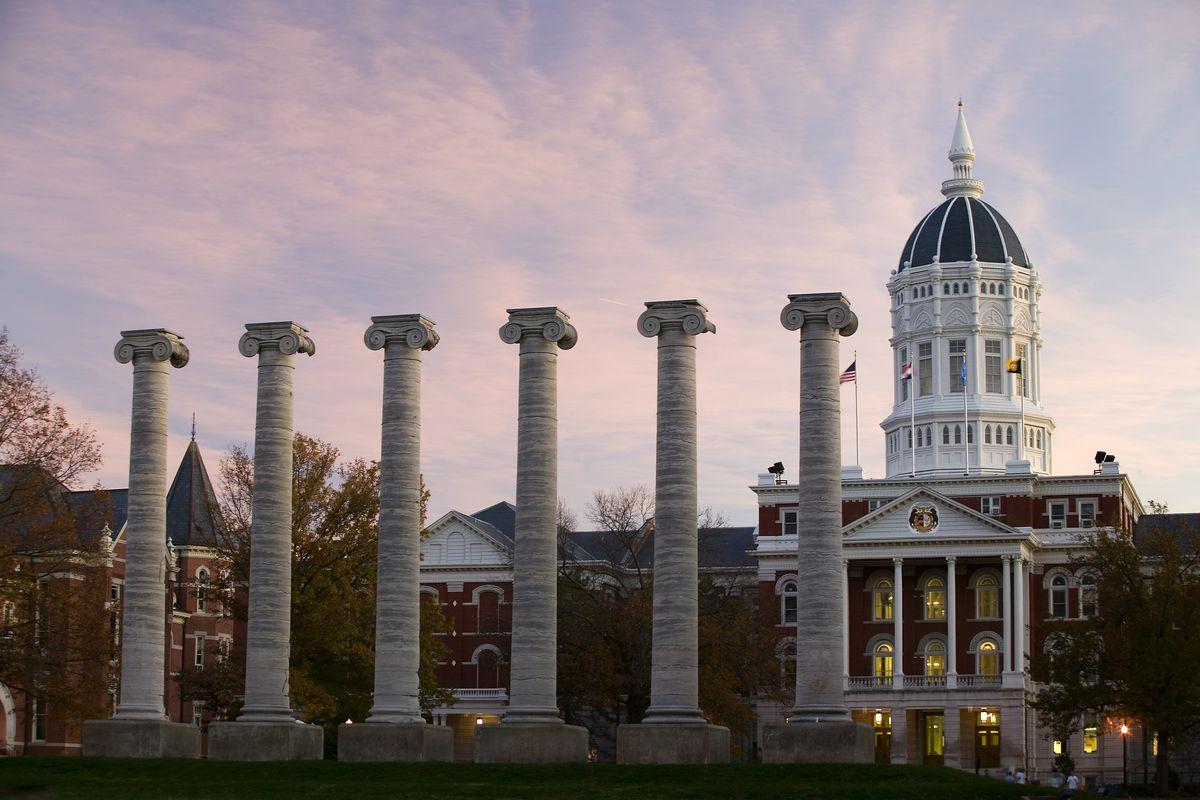 The University of Missouri campus.