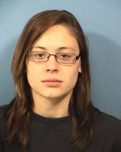 Adrianna Diana in 2014 arrest photo. DuPage County sheriff's office