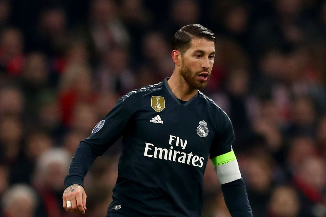 Ramos will miss Copa del Rey Final if booked during return leg against Barcelona