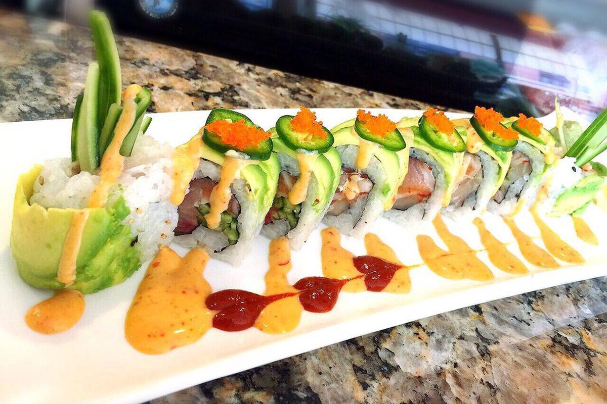 Sushi from Maneki Neko Express