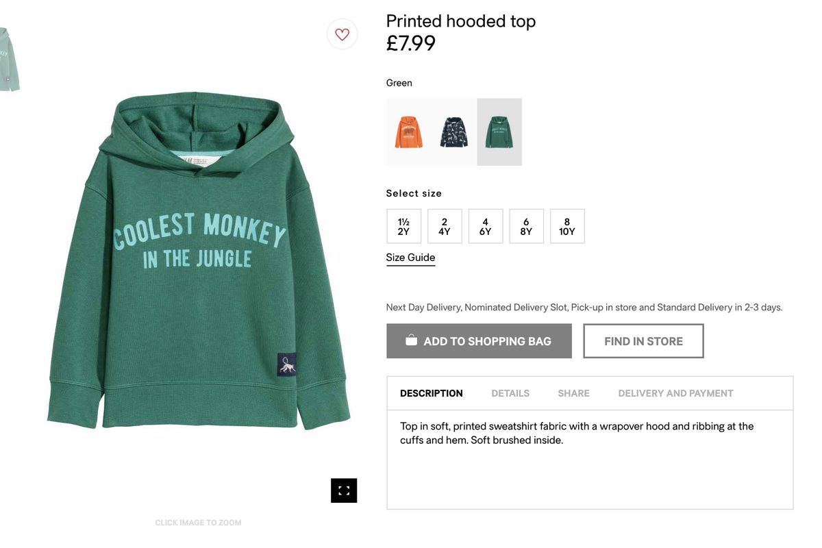 Coolest Monkey In The Jungle Hoodie Cool Kids and Adults Hood Hoodies