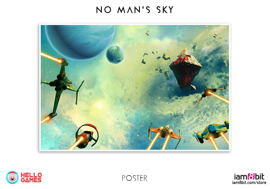 No Man's Sky / iam8bit merchandise