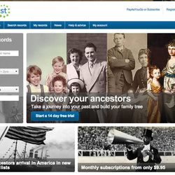 FindMyPast.com is one of the largest genealogy websites in the world.
