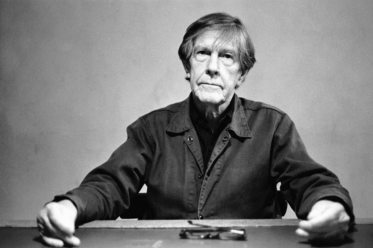 John Cage Posed In Amsterdam