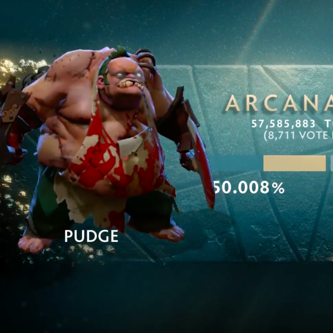 Pudge beats Rubick in Arcana vote by mere thousands - The