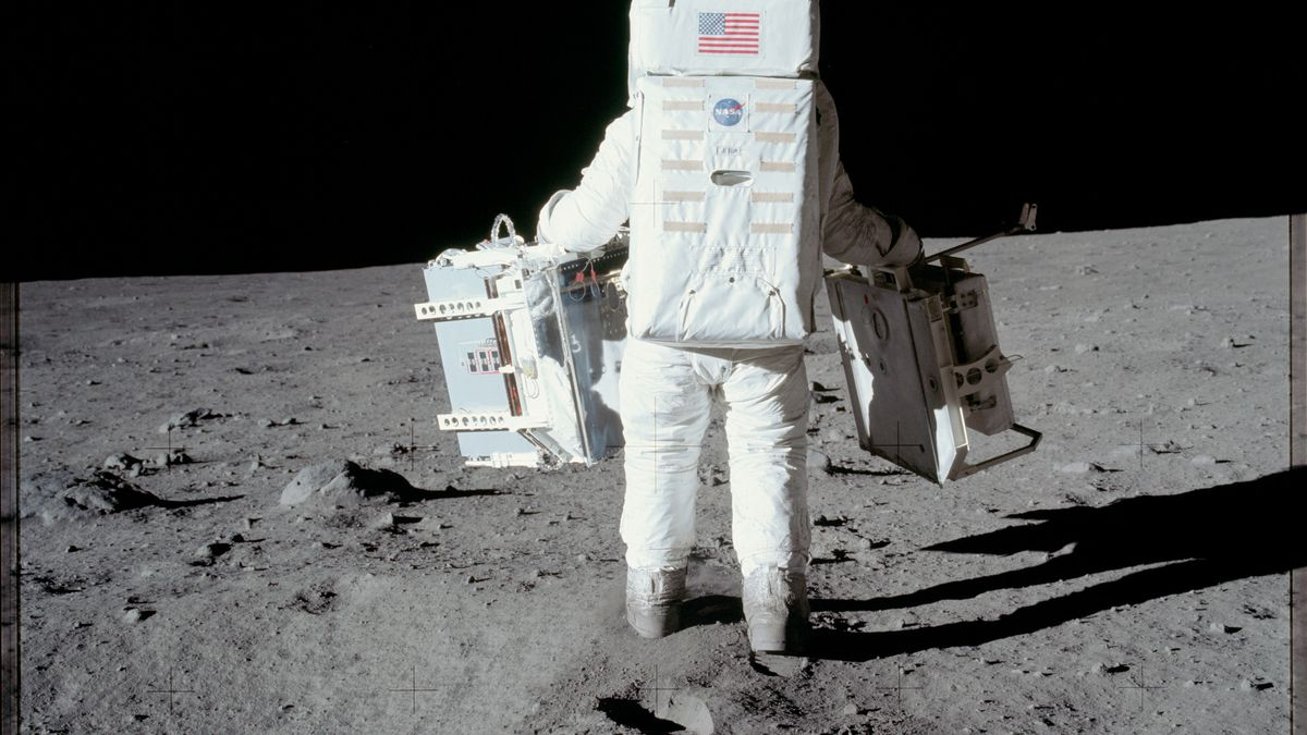 The first manned moon mission, as seen in forgotten photos.