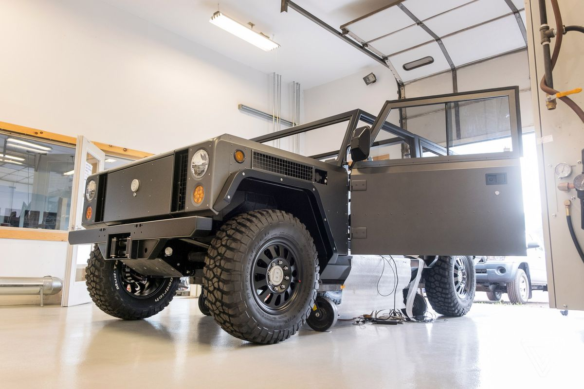 The Bollinger B1 Is An All Electric Truck With 360 Horsepower And Up Charge Line From Car To Trailer Electrical Diy Chatroom Home It Also Bucks High Tech Trend Of New Cars In General There Will Be A Radio Am Fm Receiver