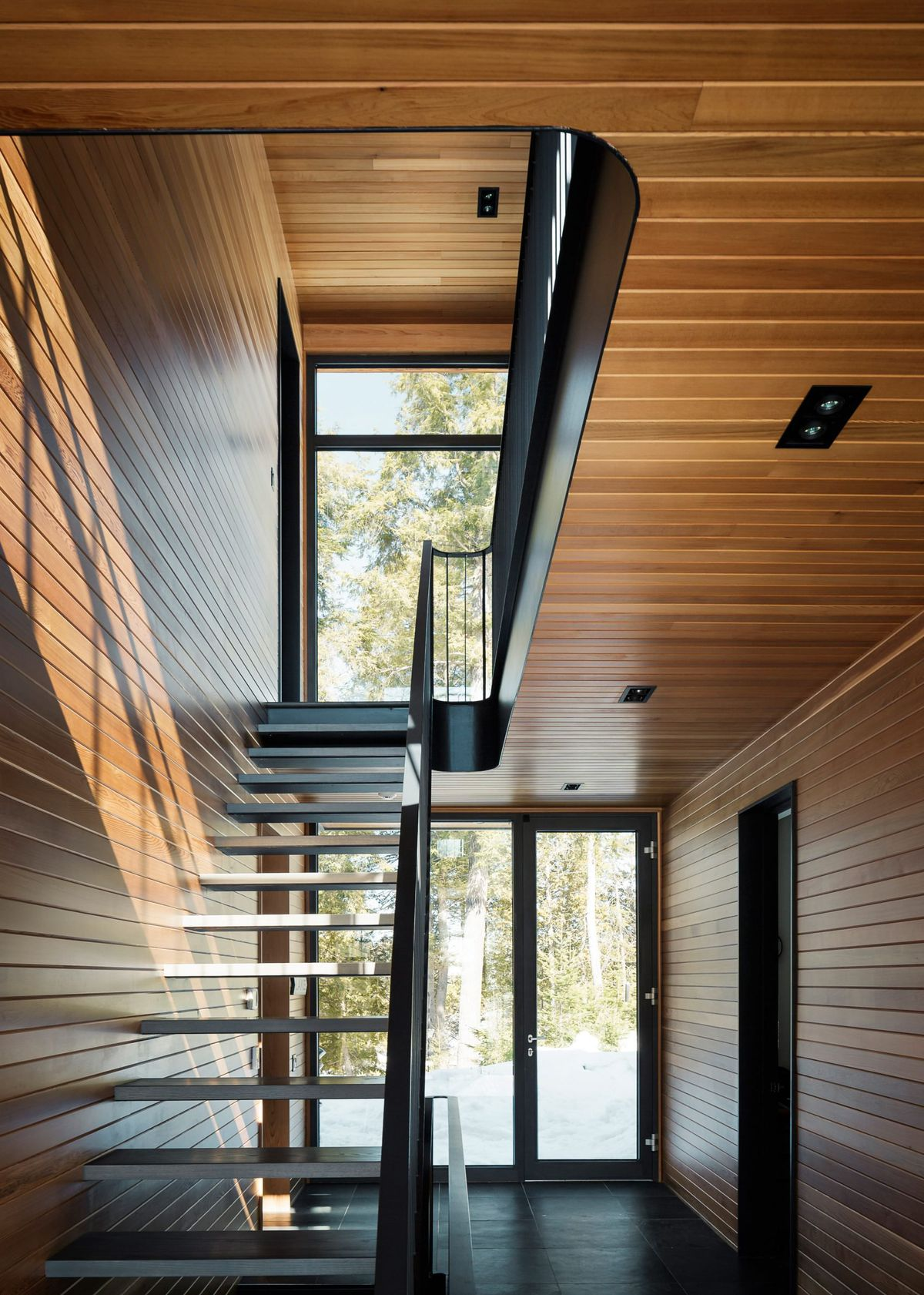 Solar Powered Home Features Sweeping Deck Mountain Views