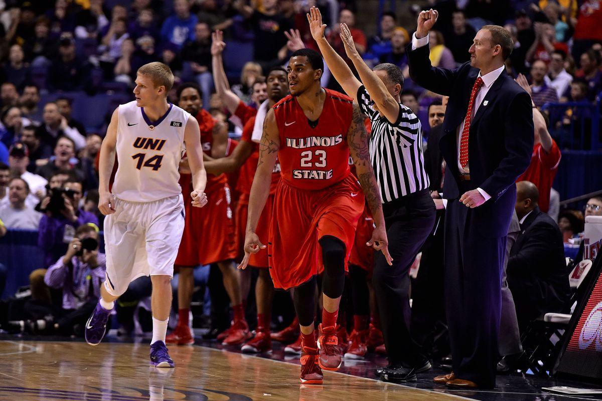 NCAA Basketball: Missouri Valley Conference Tournament-Norther Iowa vs Illinois State