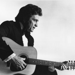 """Musician Johnny Cash popularized poet Shel Silverstein's unconventional song """"A Boy Named Sue."""""""