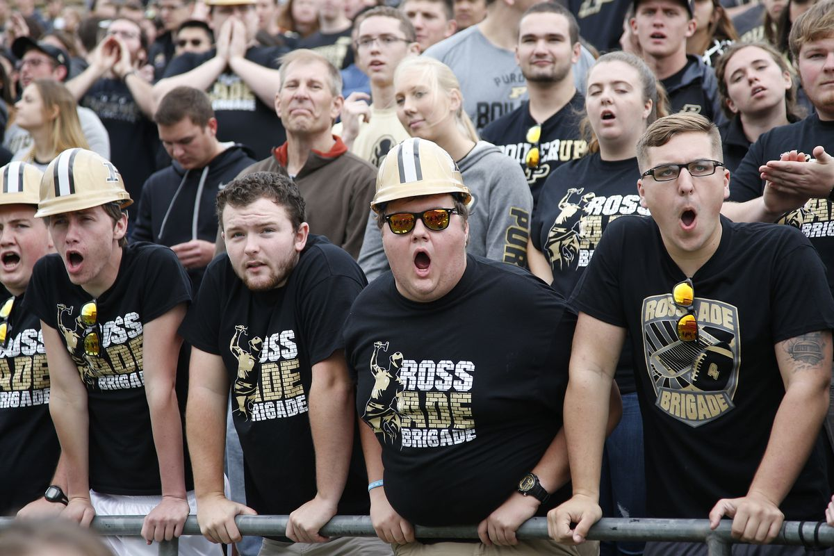 Image result for purdue football fans