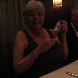 Susan Walker and her Saucisson Sec