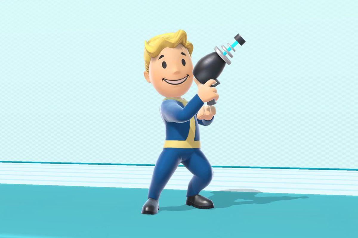 Super Smash Bros. Ultimate - Vault Boy in Super Smash Bros. Ultimate