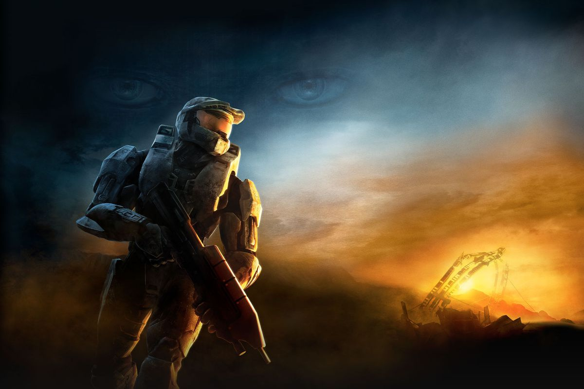 Artwork of Master Chief from Halo 3