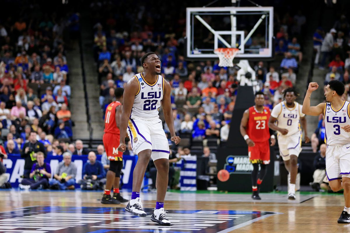 NCAA Basketball: NCAA Tournament-Second Round-Maryland vs LSU