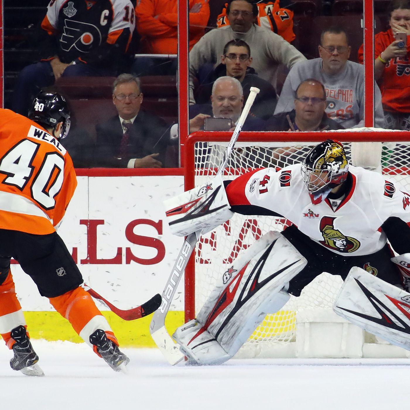 Philadelphia Flyers Vs Ottawa Senators Lineups Start Time Tv Radio Live Stream And Discussion Broad Street Hockey