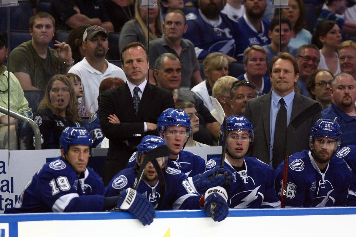 Not a lot of happy faces at the Tampa Bay Times Forum Saturday night as the Lightning wrap up the 2013 season with a loss to the Florida Panthers