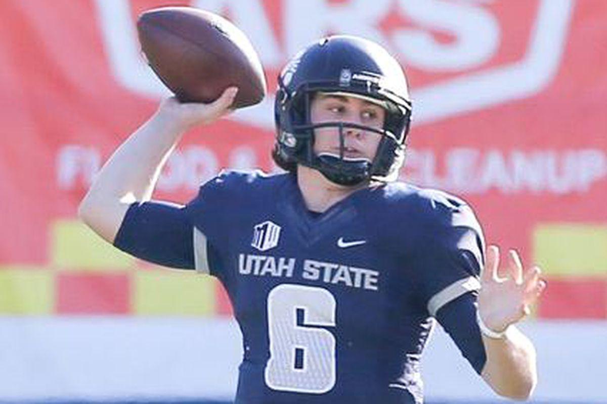 Darrell Garretson, once an Oregon St. recruit, is transferring from Utah St.