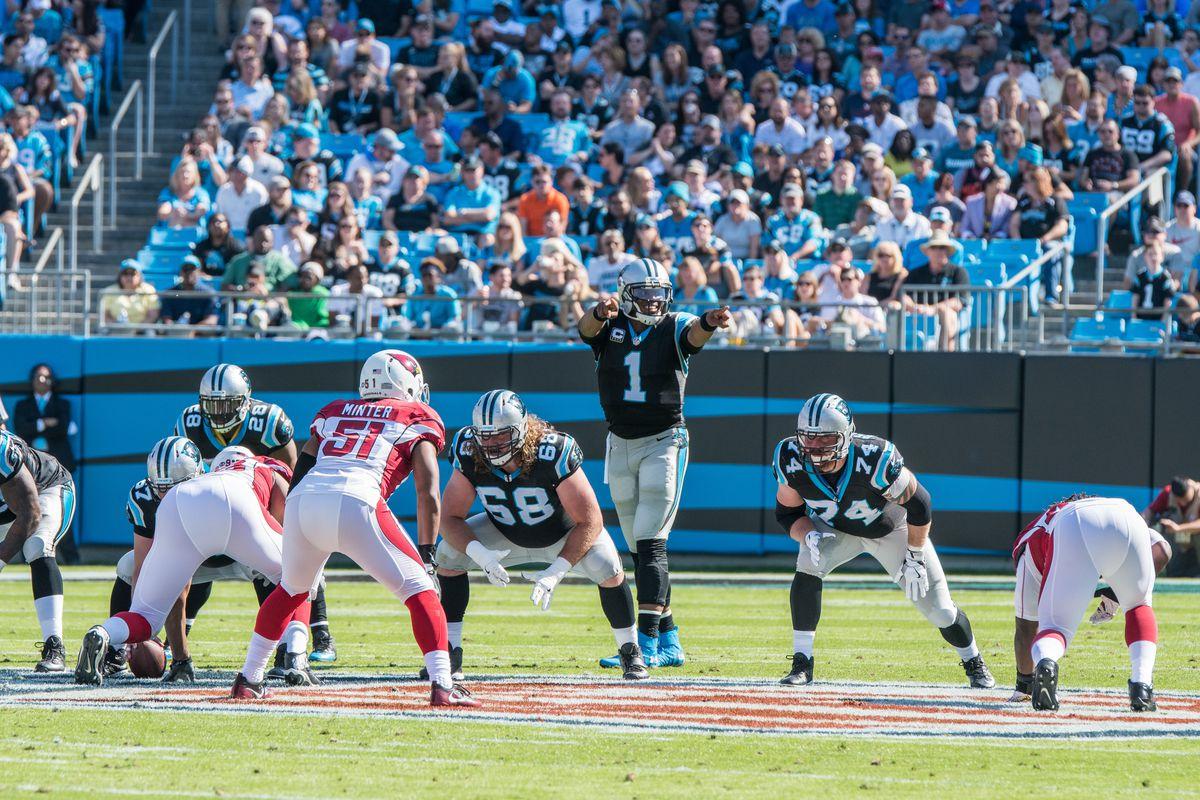 NFL: OCT 30 Cardinals at Panthers