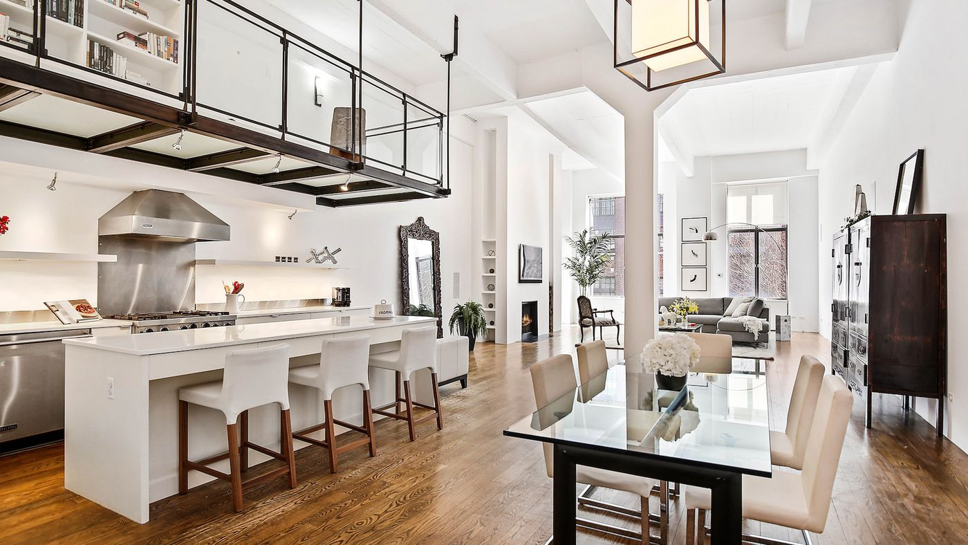 Stylish West Village co-op with glass-enclosed catwalk seeks $4.3M ...